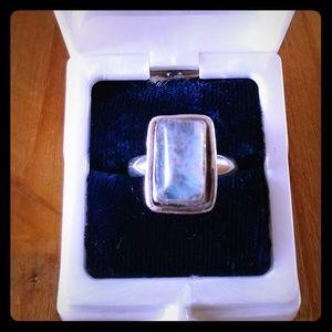 Vintage Moonstone Ring Sz 8